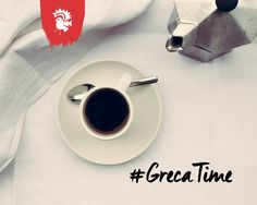 Enjoy the smooth, rich, natural flavor of a perfectly brewed cup of coffee. #grecaTime #MokaPot #CoffeeLovers