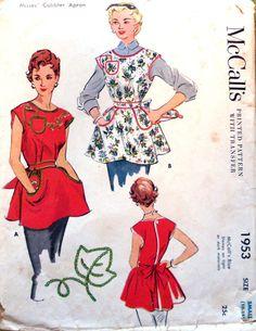 McCall's 1953 ©1955 Cobbler Apron