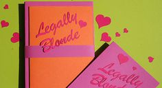 Laser cut paper and card by LCS #lasercutit for Legally Blonde The Musical