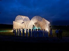 A bamboo pavilion in Taiwan's scenic Hualien province is raising awareness, aiding the environment and supporting indigenous peoples simultaneously. Placed in the Da Nong Da Fu Forest, the pavilion served as the primary venue for the opening and closing ceremonies of the Taiwanese Masadi Art Festival earlier this year. Eleven freshly-cut green bamboo vaults protrude from the ground, forming rings that encircle a central stage-like gathering space. Despite being 'open air,' the pavilion has a…