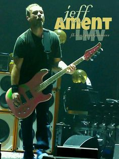 One of my pics.. #jeffament #pearljam #bassplayer #myconcertpics #PearlJammers #lightningbolttour