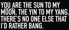 Sun moon yin yang bang