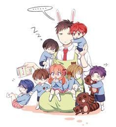 Chibi! Everyone and Nozaki XD