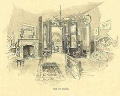Bennett College (New York) - Halcyon Hall brochure; detail of bedroom
