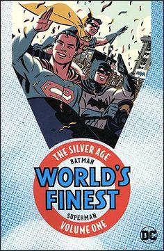 BATMAN AND SUPERMAN World's Finest Silver Age Omnibus Volume 1
