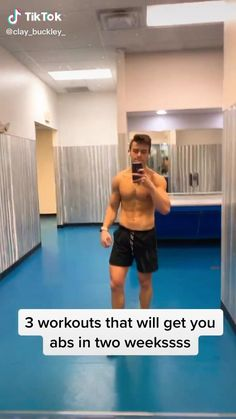 Workout Without Gym, Abs And Cardio Workout, Gym Workouts For Men, Gym Workout Videos, Calisthenics Workout, Gym Workout For Beginners, Abs Workout Routines, Weight Training Workouts, Stay Motivated