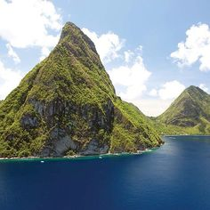 The Pitons on a Magnificent Monday Morning in Saint Lucia - Saint Lucia Tourist Board Blog