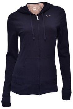 BESTSELLER! Nike Women`s Lightweight Hoodie Sweatshirt - Navy $44.98
