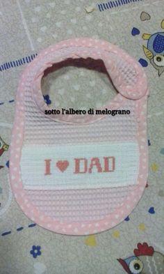 Bavaglino I LOVE DAD