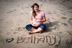 Beach Maternity Pictures. This would be cute for my pregnant friends!