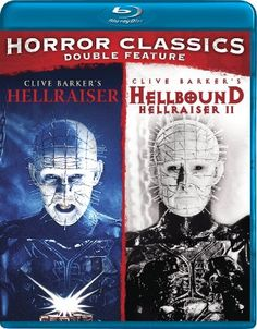 Horror Double Feature (Hellraiser / Hellbound: Hellraiser 2) [Blu-ray]