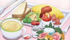 Food in Anime