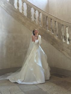 Couture Evening and Bridal Gowns Company designed and Made in Milan, Italy. Dream Wedding Dresses, Bridal Dresses, Wedding Goals, Dream Dress, Bridal Style, Pretty Dresses, Perfect Wedding, Marie, Wedding Inspiration