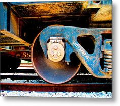 Foundation 2 Metal Print By Wendy J St Christopher