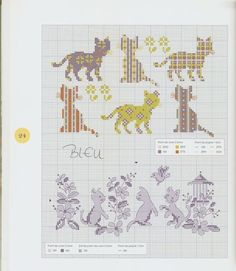 Gallery.ru / Фото #31 - Perrette Samouiloff - Les chats - velvetstreak