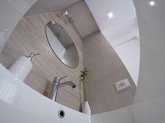 Bagno rettangolare ~ Minima architettura roma bagno design ristrutturazione