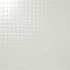 Round studded vinyl sheet Part Rolls White