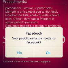 Inviato l'#aggiornamento a #Apple di @cooktogether.it sempre più iterazioni con #facebook ed i propri #amici #friend #food #chef #cook #cooking #cooktogether #app scarica http://goo.gl/RSQ2rU o seguici su www.cooktogether.it