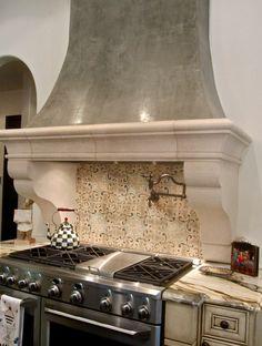 Spanish Kitchen Mediterranean Love The Cabinets Countertops Backsplash