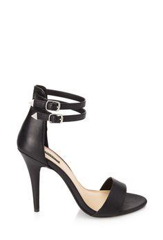 Double Strap Sandals #SummerForever #Heels - http://AmericasMall.com/categories/juniors-teens.html