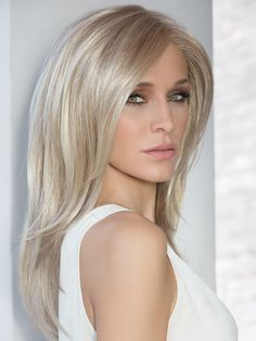 Fortune Wig by Ellen Wille Fortune by Ellen Wille is a soft, sexy style with brilliantly blended long layers. This style is ideal for the woman who wishes to make a memorable impression. The fringe around the face falls past the chin and can be pulled back easily when styling. The impeccable ear to ear extended lace front offers styling versatility and a seamless, natural appearance. The premium synthetic fiber used to create the Fortune mimics the look, feel and movement of biological hair…
