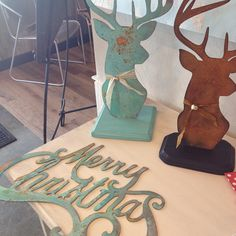Holiday Decor with Modern Masters Metal Effects verdigris and rust patina finishes | Project by Unfauxgettable Interiors
