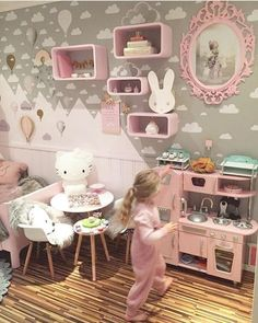 Oh my heart, the CUTEST wall decals for kids! White Cloud Decals from www.rockymountaindecals.ca