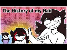The History of my Hair Disney Pixar, Disney Characters, Fictional Characters, Jaiden Animations, Youtube I, Title Card, Animation Reference, Try Not To Laugh, How To Make Homemade