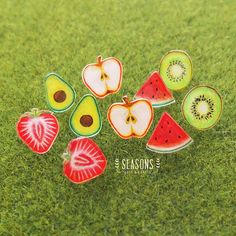 Check out this item in my Etsy shop https://www.etsy.com/listing/534434294/handdrawn-fruit-slice-stud-earrings-post