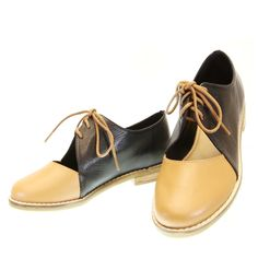 Oxford Cut Out Bicolor 2020 Moselle | Moselle sapatos finos femininos! Moselle sua boutique online.