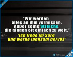 Langsam kommen doch Zweifel #Streich #schwarzerHumor #Witze #Humor #lachen