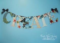 Stampin' Up! Banner  by Amanda C at Krafting Kreations: CREATE Artwork