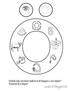 Kisbetűkben képek a hangfelismerés gyakorlásához – Játékos tanulás és kreativitás Dysgraphia, Worksheets, Symbols, Teaching, Education, School, Grammar, Facebook, Decor