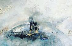 A free spirit on an endless flight, schilderij van Diney-Art, Diney Berg | Abstract | Modern | Kunst