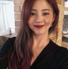 Light Blue Aesthetic, Aesthetic Hair, Instagram Asian, Cute Eye Makeup, Girls Foto, Wedding Hair Inspiration, Ulzzang Korean Girl, Cute Eyes, Girl Crushes