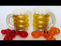 Рак из одного шара / Crayfish of one balloon, twisting - YouTube