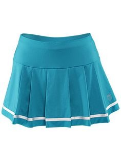 Teal tennis skirt