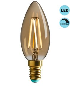 WattNott Dimmable Edison Style LED Bulb E14
