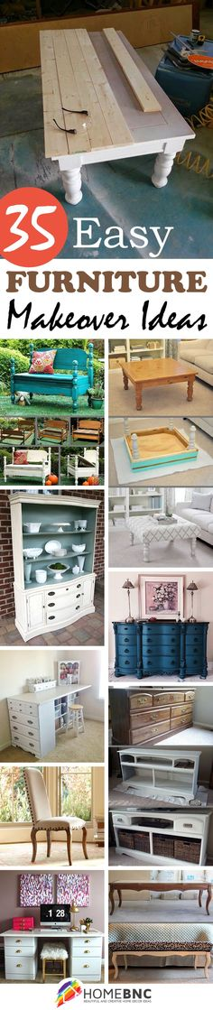 Furniture Makeover Projects ★❤★ Trending • Fashion • DIY • Food • Decor • Lifestyle • Beauty • Pinspiration  @Concierge101.com