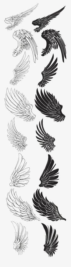 Wings/Black and white арт в 2019 г. tatuajes de alas, dibujo de alas и cosa Tattoo Sketches, Tattoo Drawings, Drawing Sketches, Body Art Tattoos, Art Drawings, Drawing Drawing, Sketching, Wing Tattoos, Tattoos Skull