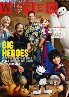 Wired - Pixar/Disney