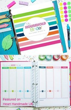 Is your house a complete mess? Get your hands on a printable kit to help you organize the house & everything in it! Create your very own DIY Home Management Binder & Get Inspired by the home management binders in this post #homemangement #organizing #organising #cleaning #printables #planner #printablekit #plannerprintable