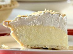 Pina Colada Pie from FoodNetwork.com~ I added an extra 1/2 tsp spiced rum to mine and used regular coconut milk instead of lite- delicious!