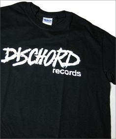 DISCHORD RECORDS(FUGAZI,Dag Nasty,Minor Threat,Shudder to Think) official T-shirts