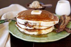 Bacon Stuffed Pancakes