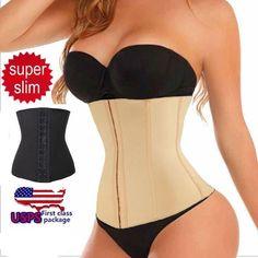 5c91428783b Good Quality Women Waist Trainer Slimming Shapewear Training Corsets  Cincher Body Shaper Bustier