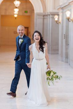 San Francisco City Hall and Sir Francis Drake Hotel Wedding // Vivian Chen Photography // www.vivianchen.com