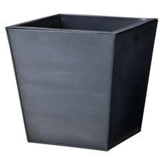 Smith & Hawken® Premium Quality Wellington Hill Zinc Finish Taper Planter