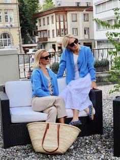 Die Bloggerin Bibi Horst stylt Leinen in vielen Variationen. | Stilexperte für Styling und Anti-Aging 45+ Good Foods For Diabetics, Mode Outfits, Unique Recipes, Anti Aging, Dressing, Horst, Pretty, How To Wear, Street Fashion