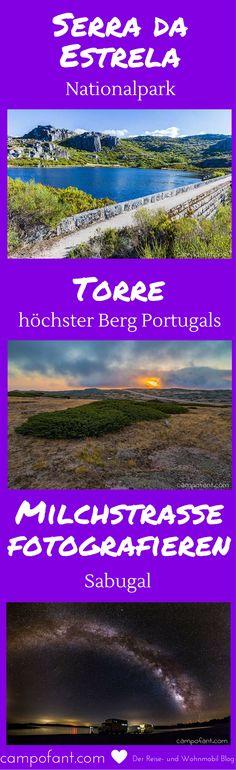 Milchstraße fotografieren in Portugal. Wir machen uns auf in den Nationalpark Serra da Estrela. Auf dem höchsten Berg Portugals, dem Torre, hoffen wir bei Neumond auf beste Voraussetzungen. Doch der Himmel zieht zu.  Das Glück ist auf unserer Seite, denn nachts klart es wieder auf. Das wir am nächsten Tag in Sabugal ein viel besseres Bild von der Milchstraße schiessen werden, ahnen wir zu diesem Zeitpunkt noch nicht.